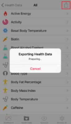 Apple HealthKit Export 2