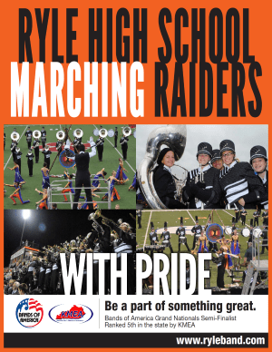 Be a Marching Raider