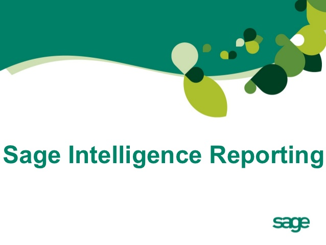 New: Sage Intelligence Series of 5 Weekly Video Lessons