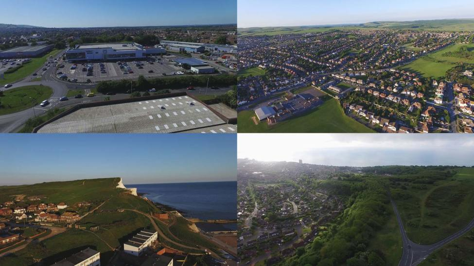 Kings Church Eastbourne drone footage