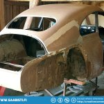 Saab 93B DeLuxe 1959 - Barn Find Basket Case