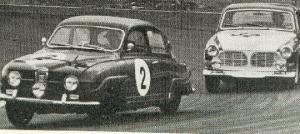 Sama auto?? Kuvattu ilmeisesti Keimola 500 ajossa 1966.