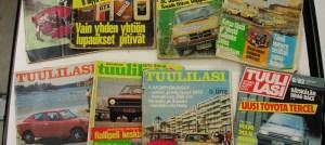 TL lehtiä 70-luvun alusta sekalaisia kokoelma