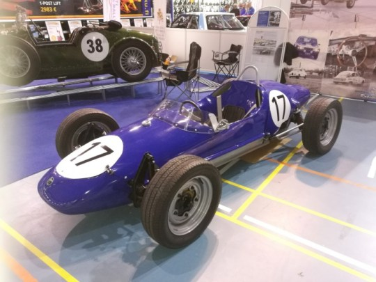 Leo Kinnunen´s first formula car; Apal which is VW pased.