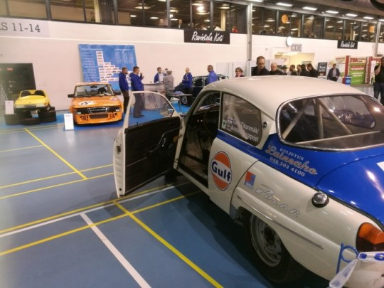 People have to possibility to testsit on real Rally 96