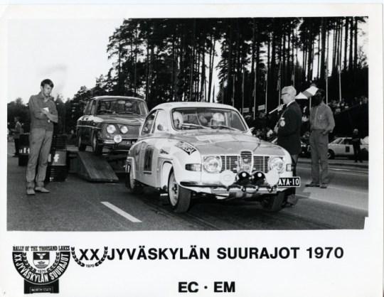 AYA10 Rally Of The Thousand Lakes 1970