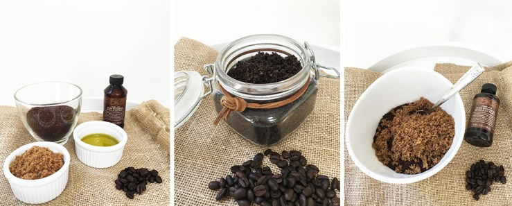 DIY Vanilla Coffee Sugar Scrub