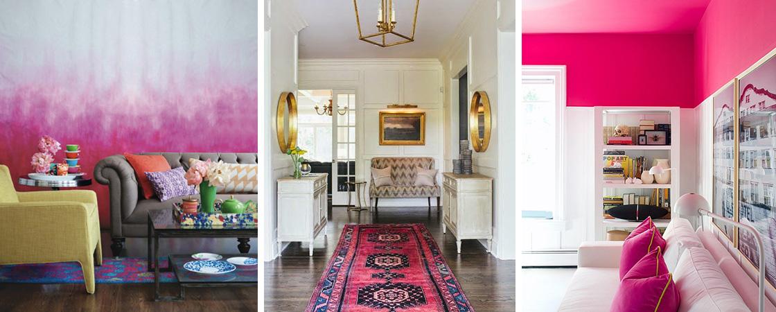 2017 Interior Design Trend: Pink