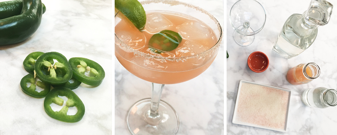 Spicy Paloma Cocktail