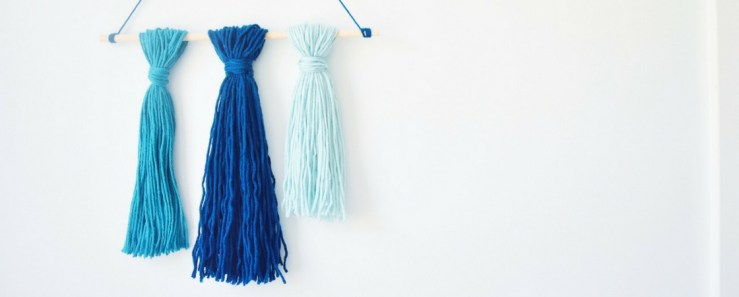 DIY: Tassel Wall Art