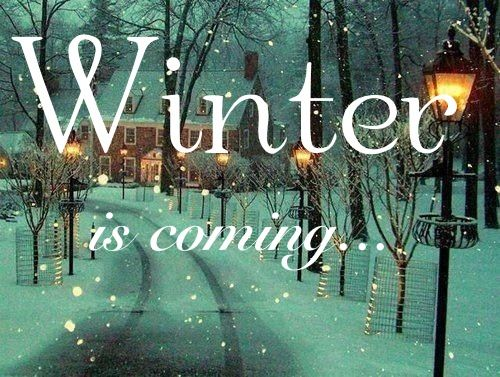 Inspiration: Winter time (part 1)