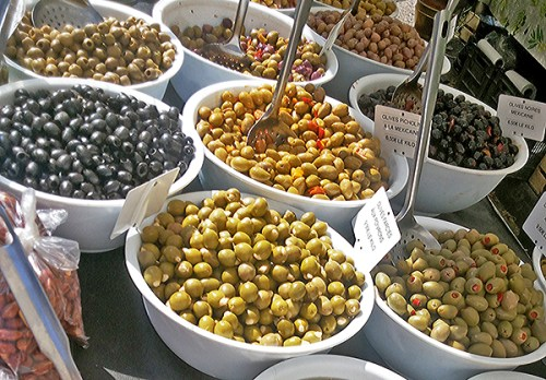 France Diary: Day at the market