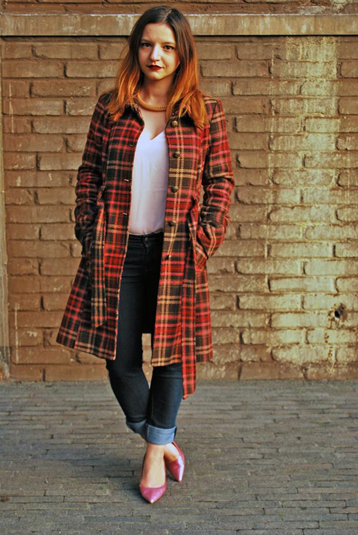 Outfit: Tartan Coat