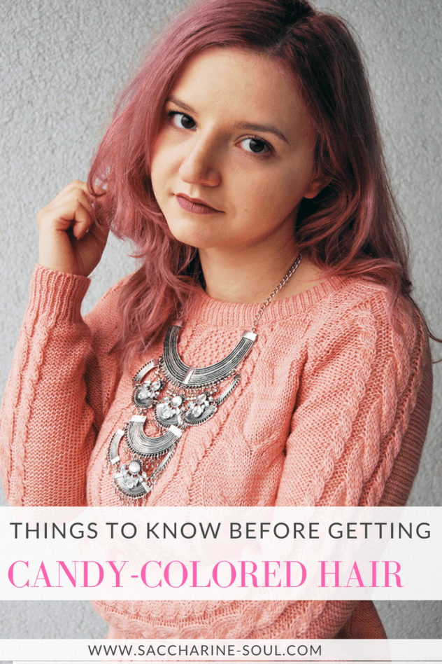 Things To Know Before Getting Candy-Colored Hair