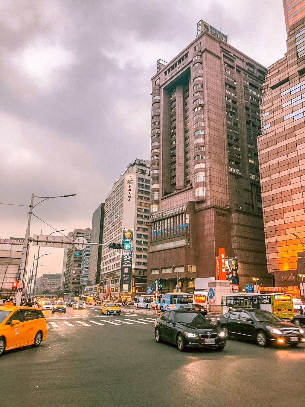 First impressions of Taipei