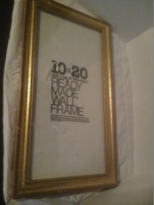 A large 10x20 picture frame