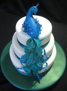 Ideas for a peacock wedding