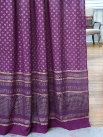 Mystic Amethyst curtains