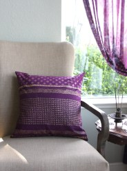 Mystic Amethyst throw pillow