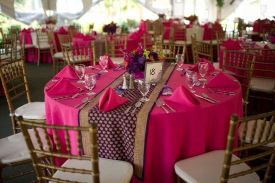 purple_wedding_table_runner_round_table