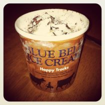 Blue Bell Happy Tracks kicked off the inaugural ice cream review!