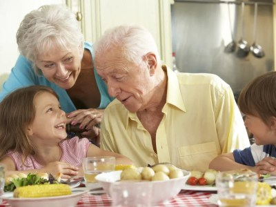 Dealing with other grandparents - Saga