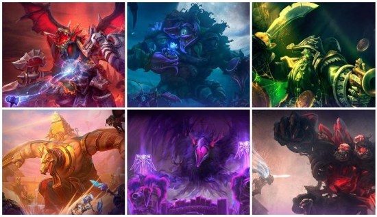 Battlegrounds for the Heroes of the Storm