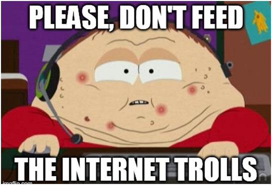 internet troll in gaming