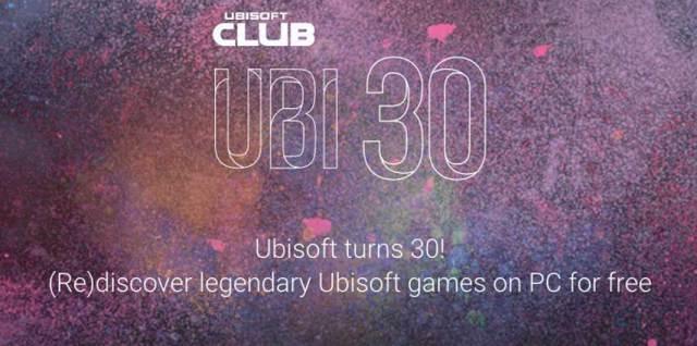 Ubisoft is celebrating it's 30th Anniversary
