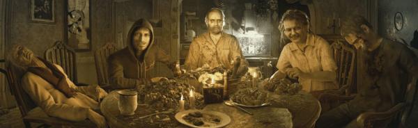 Dinner in Resident Evil 7