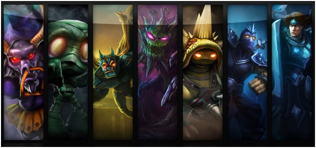 Tank Champions in League of Legends