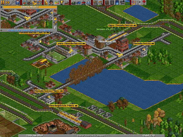 Transport Tycoon Deluxe Clone OpenTTD Gets Major Update