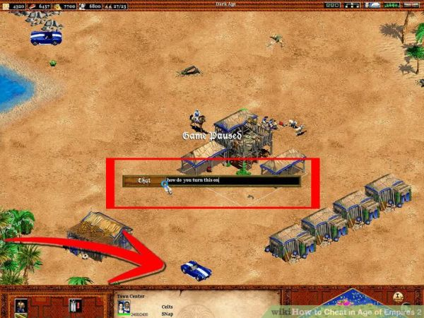 Cobra Car in game in Age of Empire II.
