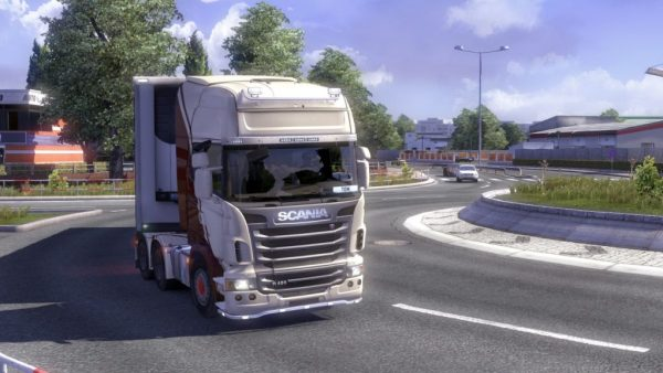 Eurotruck Simulator 2 Game Play Screenshot.