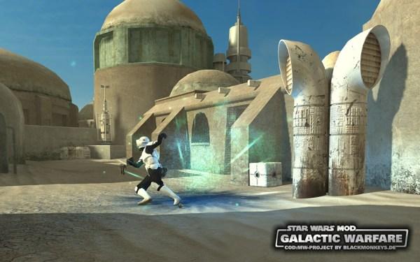 Galactic Warfare is a mod for Call of Duty: Modern Warfare.