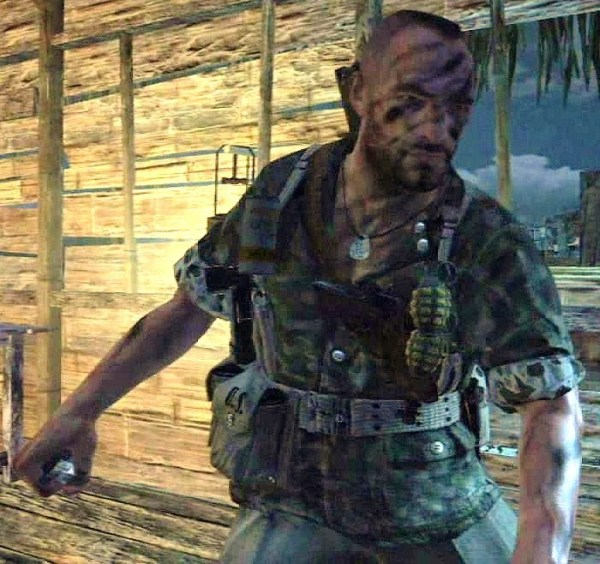 Sgt Roebuck from Call of Duty World at War