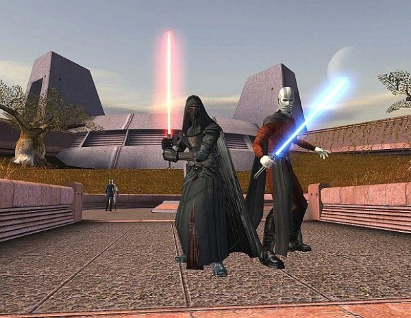 Star Wars Knights of the Old Republic Gameplay Screenshot