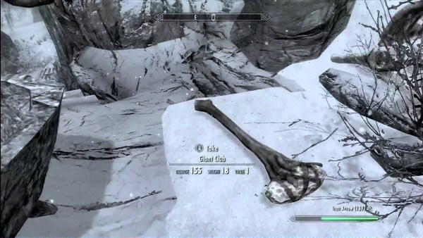 The Giant bone clubs from Skyrim