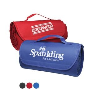 This roll-up blanket is a trunk-essential and travels easily to sporting events, picnics, and the beach.