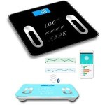 Monitoring weight goals is made easy with this Bluetooth digital scale. Sync measurements like weight, muscle mass, BMI, and more from the scale to a smartphone, tablet, or computer.