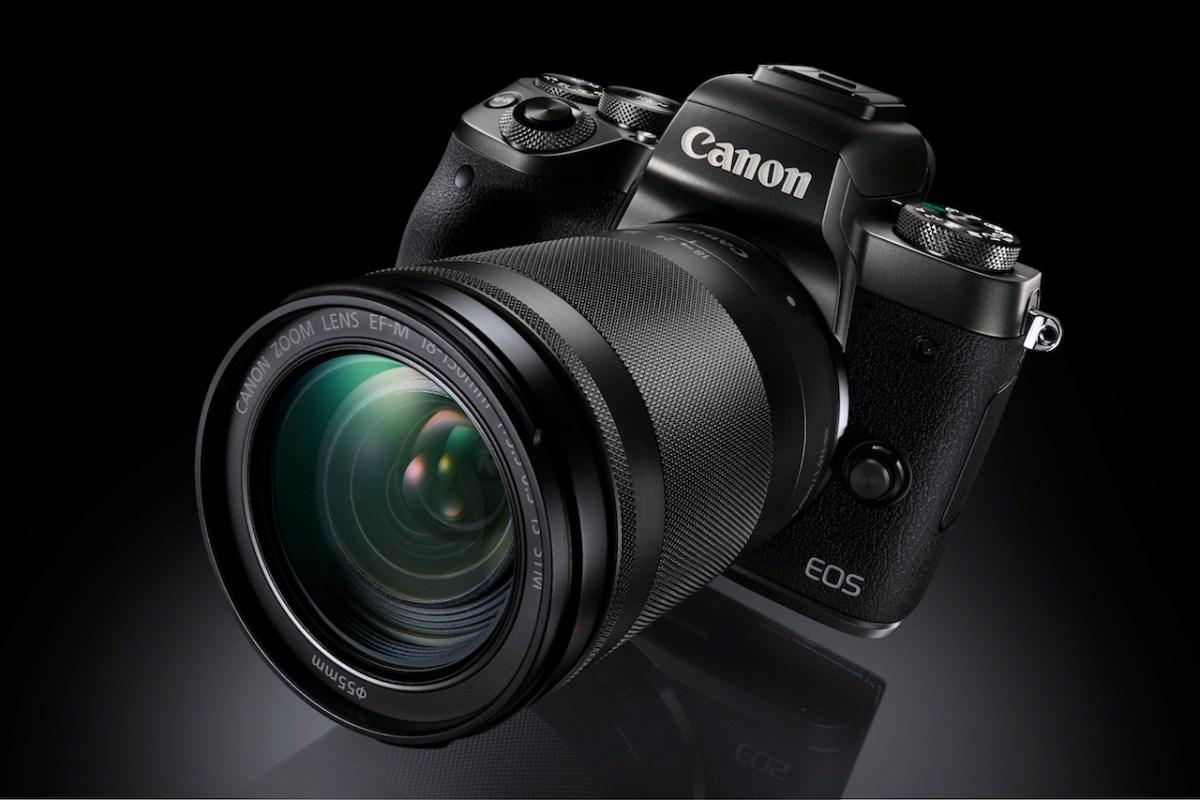 Canon presenta la EOS M5: la mirrorless che è come doveva essere