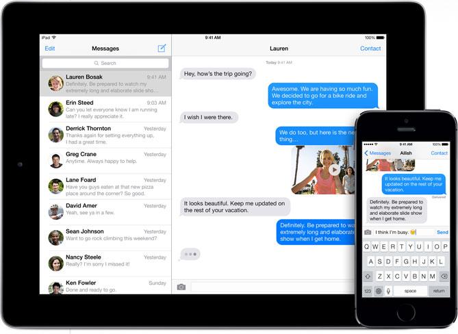 iMessage salva sui server di Apple la lista delle chat (ma non i contenuti)