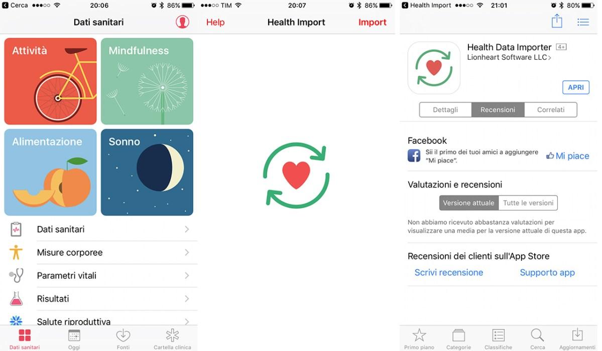 Health Data Importer, l'app per trasferire i dati Salute dopo un ripristino