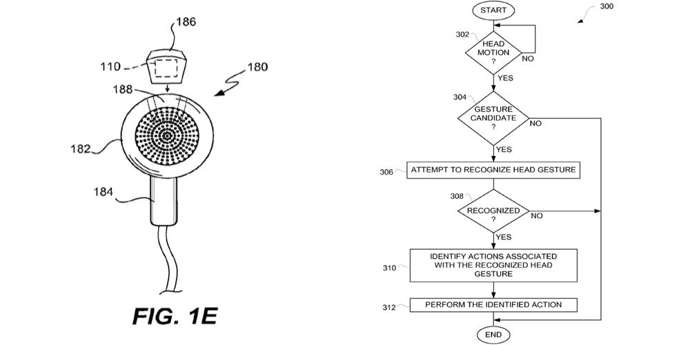 Apple brevetta delle cuffie per sportivi con sensori biometrici e controlli gestuali