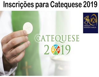 Matrículas Catequese 2019 destacada 320x250