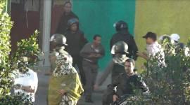 قمع المعطلين الصحراويين من طرف الاحتلال المغربي