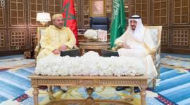 ملوك المغرب والسعودية