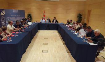 Delegacion Saharaui con los responsables de IU CyL