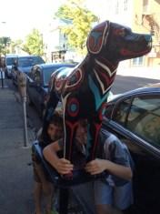Artsy Dog
