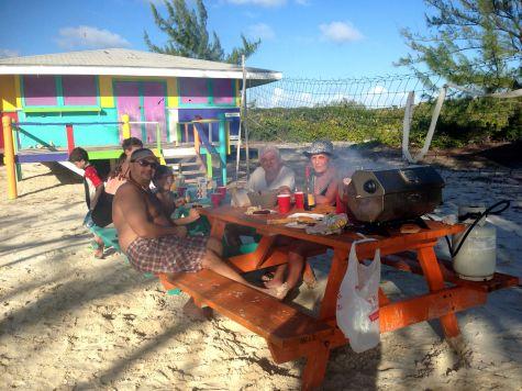 BBQ on Beach
